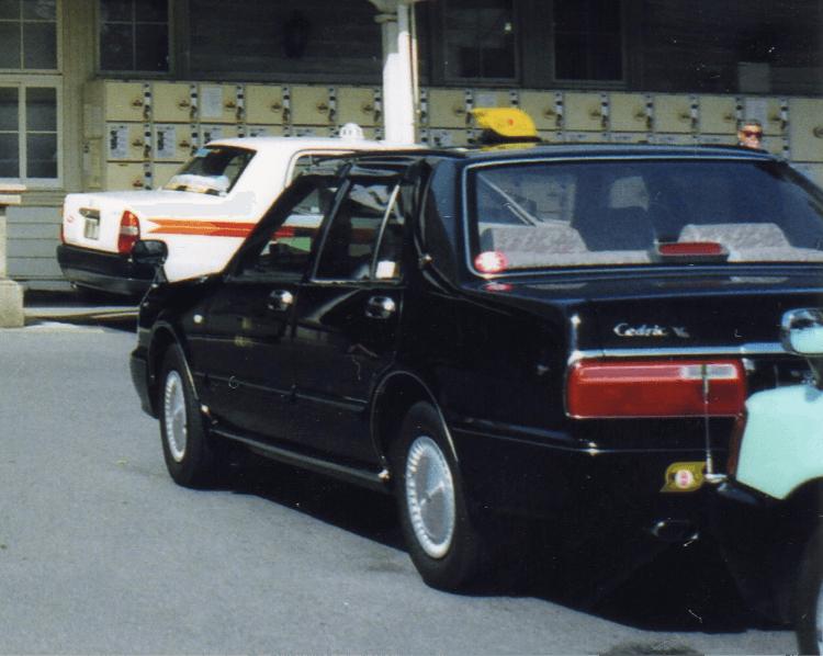 タクシー(運送業)無線システムイメージ